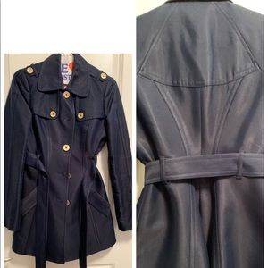 Classic Juicy Couture  Navy Trench Coat